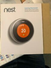 Nest Learning Thermostat 2nd Generation Stainless Steel