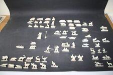 69 Figuren Wagner Margarine-Figuren Engel Indianer Weihnachten Plastik Tiere