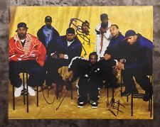 GFA Method Man GZA Raekwon x3  * WU-TANG CLAN * Signed 11x14 Photo PROOF W4 COA
