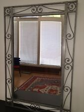 Pier 1 Large Iron Scrollwork Mirror