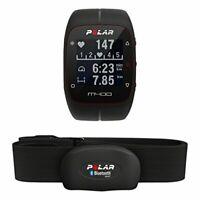 Polar M400 GPS-Laufuhr ohne Brustgurt, Schwarz