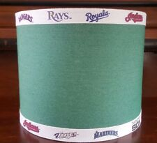 Vtg Baseball teams Lamp Shade Sox yankees twins royals angels Orioles rays
