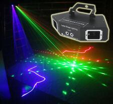 DMX 4 Len RGB Pattern Beam Network Laser Light Home Party DJ Stage Lighting Yc