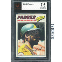 Dave Winfield 1977 Topps #390 BVG 7.5 Nr Mint HOF Hall of Fame Padres Yankee MVP