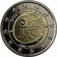 Belgien 2 Euro Münze WWU EMU 2009 PP 10 Jahre Wirtschafts und Währungsunion