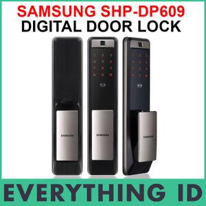 SAMSUNG SHP-DP609 SMART WI-FI BIOMETRIC MORTISE DIGITAL DOOR LOCK SHP-DP609AS/EN