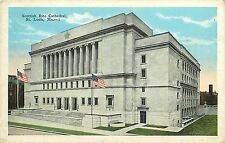 SCOTTISH RITE CATHEDRAL ST. LOUIS MO LINDELL GRAND BLVD POSTCARD