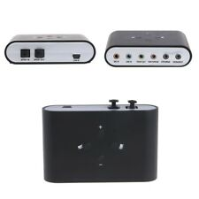 External 5.1 & 7.1 Channel USB Optical Sound Card Audio Adapter For PC Notebook