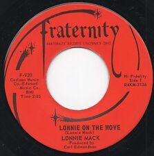 "R & R ~ LONNIE MACK ~ FRATERNITY 920  ""LONNIE ON THE MOVE /SAY SOMETHING"" 1964"