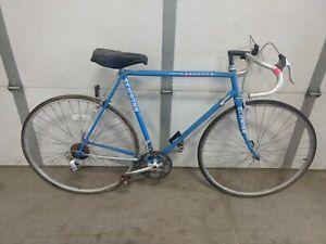 Schwinn Traveler 10 spd bicycle project sun tour aluminum rim vintage blue