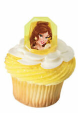 Disney Princess Belle cupcake rings (24) party favor cake topper 2 dozen