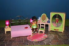Playmobil Romantik Schlafzimmer  1900er Welt  5300 / 5301 / 5309 /  5321 / 5308