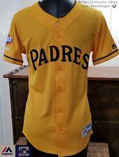 MLB SAN DIEGO PADRES Baseball Magestic Sewn YOUTH Future Padres Clorox JERSEY LG