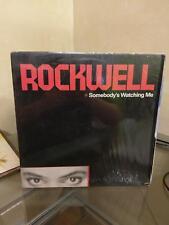 Rockwell Somebody's Watching Me  Vinyl Record EX/EX
