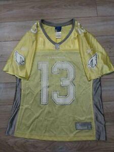 Kurt Warner #13 Arizona Cardinals NFL Reebok Football Jersey Women's M Medium
