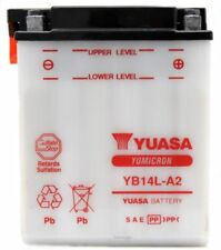 BATTERIA YUASA YB14L-A2 12 V 14 AH MOTO GUZZI BREVA NEVADA CLASSIC 750