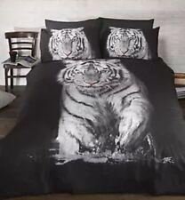 White Tiger Photographic print Duvet Set Single CHEAPEST ON EBAY