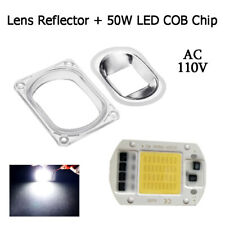 1 set LED Bulb+Lens Light 50W 110V Smart IC Driver LED Chip for Flood Light
