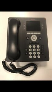 10 x Avaya 9611G Business Telephones. Factory Reset. Complete With Stands