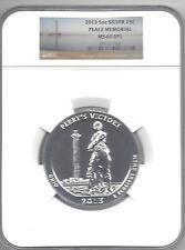 2013  Peace Memorial 5 oz Silver  MS 69 DPL  NGC