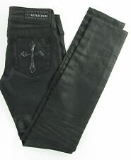 AFFLICTION  RAQUEL -  SKINNY Women's jeans in HILO Wash (coated) size 25/31