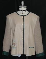 Distler ~ Brown Austria Women Summer Casual Skirt Dress Suit Jacket Eu 46 18 Xl