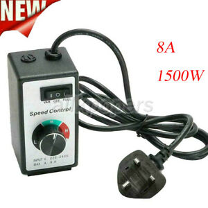 For Router Fan 10A 220-240V Variable Speed Controller Electric Motor Rheostat