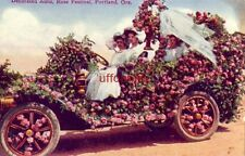 Decorated Auto, Rose Festival, Portland, Or