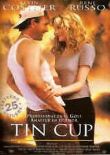 TIN CUP Movie POSTER 27x40 Spanish Kevin Costner Don Johnson Rene Russo Richard