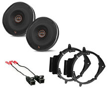 INFINITY REFERENCE REF-6522EX STEREO SPEAKERS DOOR MOUNTING BRACKETS & HARNESS