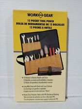 WORK GEAR 90-412,  12 POCKET TOOL POUCH  (X00041)
