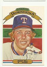 1982 Donruss Diamond Kings Buddy Bell Texas Rangers #23