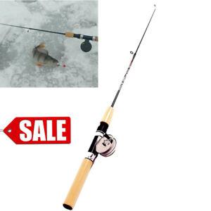 Beginner Mini Fishing Combo Baitcasting Anti-Slip Carbon Rod Metal Spinning Reel