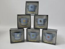 Wedgwood Jasper Guild Of Specialist Retailers Mugs - Full Set Of Six - Pristine