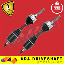 NEW CV JOINT DRIVE SHAFT TOYOTA LANDCRUISER 100 SERIES WITH IFS 04/1998-  (PAIR)