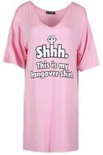Camicia da donna rosa viscosa
