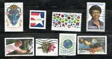 2020 Lot of eight single Stamps for the 2020 year Used