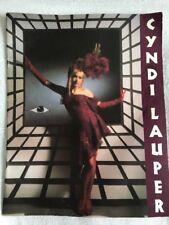 Cyndi Lauper True Colors - Australian Tour Programme '86/'87. Rare!!