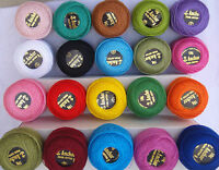 20 ANCHOR Pearl Cotton Balls. Size 8  (85 Meters each), Great Value