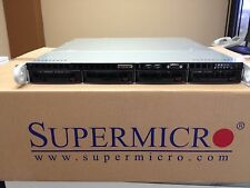 """1U Supermicro E3-1230 v.2 / 3.3Ghz Xeon / 8GB / 4 hot swap chassis """"NEW"""""""