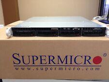 1U Supermicro E3-1231 v.3 / 3.4Ghz Xeon / 8GB / Quad LAN /4 hot swap chassis