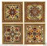 "Italian Renaissance Artistic Backsplash Decorative Ceramic Accent Tiles 6"" New"