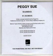 (CU249) Peggy Sue, D.U.M.B.O. - 2011 DJ CD