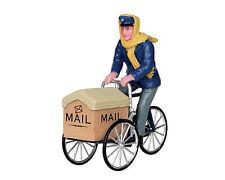 Lemax Mail Delivery Cycle (219) Weihnachtsdorf, Weihnachtsfiguren, Modellbau