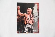 New listing WANDERLEI SILVA SIGNED 2009 TOPPS UFC ROUND 2 AXE MURDERER MMA AUTOGRAPH AUTO