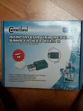 Connectland Adaptateur USB réseau sans fil IEEE 802.11 n