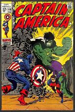 Captain America #110 1st App of Madame Hydra FN+