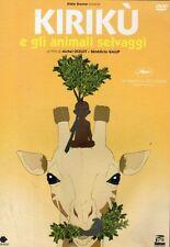 Dvd KIRIKU' E GLI ANIMALI SELVAGGI- (2005)  ......NUOVO