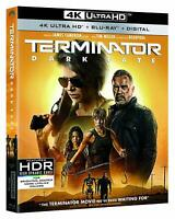 TERMINATOR DARK FATE 4K ULTRA HD BLU RAY 2 DISC SET + SLIPCOVER SLEEVE BUY ITNOW