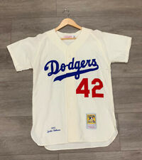 Men Los Angeles Dodgers Jackie Robinson Mitchell & Ness 1955 Cooperstown Jersey